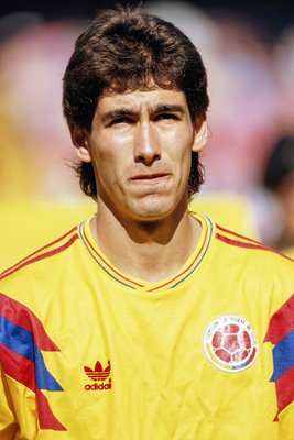 Portrait of Andres Escobar of Colombia