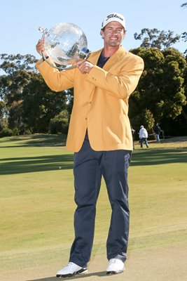 Adam Scott Australian Masters Gold Jacket 2012