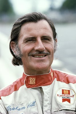 Graham Hill portrait 1974