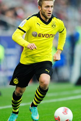 Jakub Blaszczykowski of Borussia Dortmund on the ball