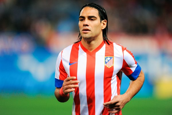 Radamel Falcao of Atletico Madrid Portrait