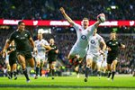 Chris Ashton Swallow Dive Try v New Zealand 2012 Canvas