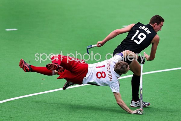 Barry Middleton and Alex Shaw Champions Trophy Hockey 2012