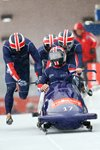 Great Britain Four Man Bobsleigh Team Germany 2012 Prints