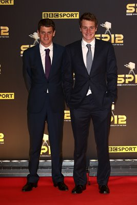 Brownlee Brothers BBC Sports Personality Of The Year 2012