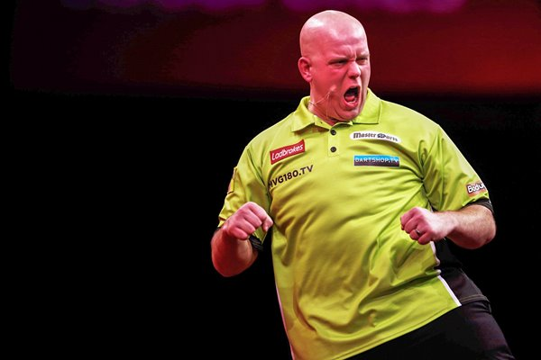 Michael van Gerwen World Darts 2012
