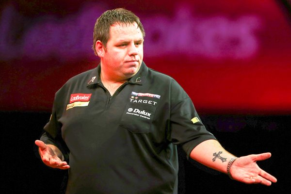 Adrian Lewis World Darts 2012