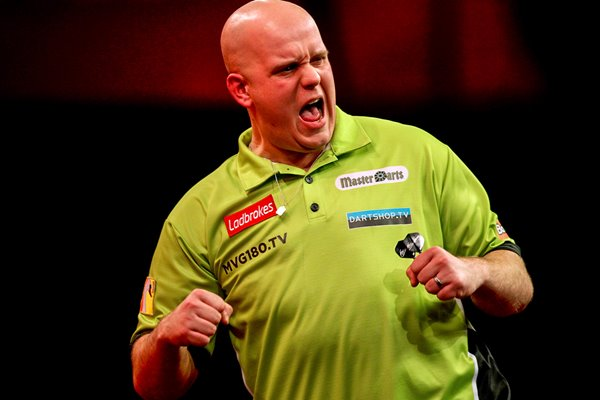 Michael van Gerwen World Darts Championship 2013