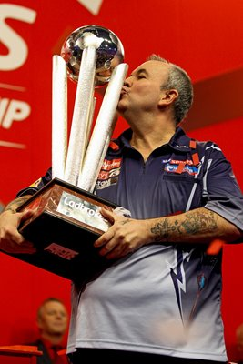 Phil Taylor World Darts 2012