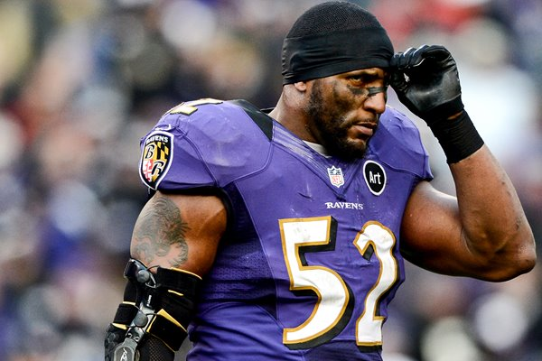 Ray Lewis Baltimore Ravens v Indianopolis Colts 2013