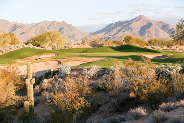 Gray Hawk Golf Club, Scottsdale, Arizona, USA