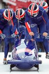 Great Britain Four Man Bobsleigh Team St Moritz 2013 Prints