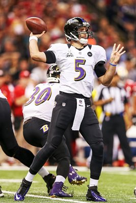 Joe Flacco Baltimore Ravens Quarterback Super Bowl 2013