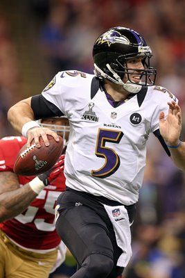 Joe Flacco Baltimore Ravens MVP Super Bowl 2013