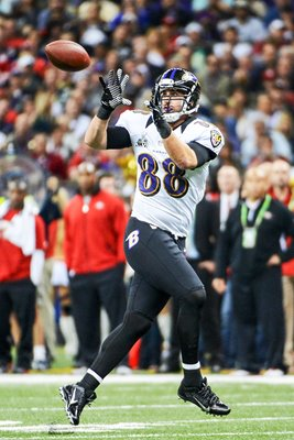 Dennis Pitta Baltimore Ravens Super Bowl 2013
