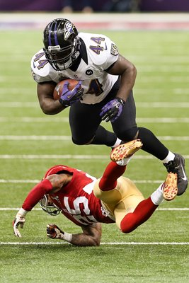Vonta Leach Baltimore Ravens Super Bowl 2013