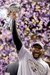 Ray Lewis Baltimore Ravens Super Bowl 2013 Prints