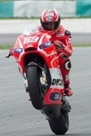 Nicky Hayden Tests in Sepang Prints