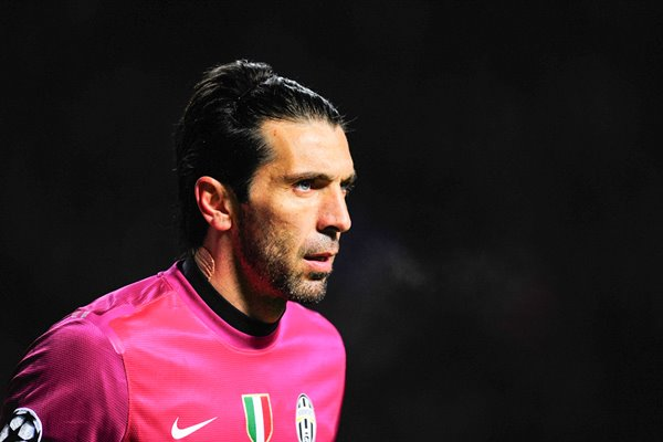 Gianluigi Buffon - Celtic v Juventus