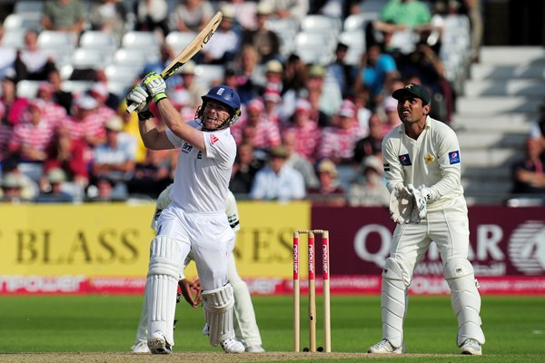 Eoin Morgan reached maiden Test 100 with a 6