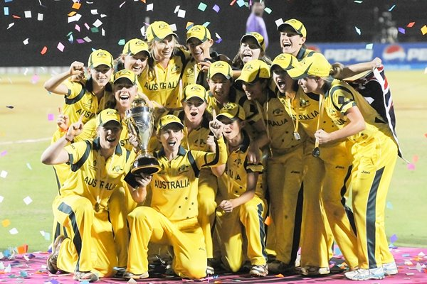 Australia Women's Cricket World Cup Champions 2013