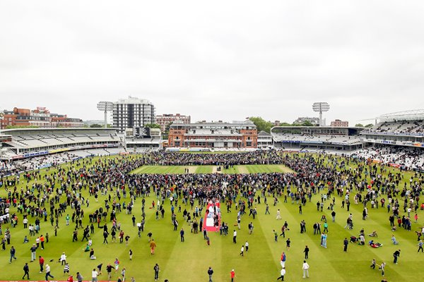 Perambulation at Lord's - Lunch - Monday 31st May 2010