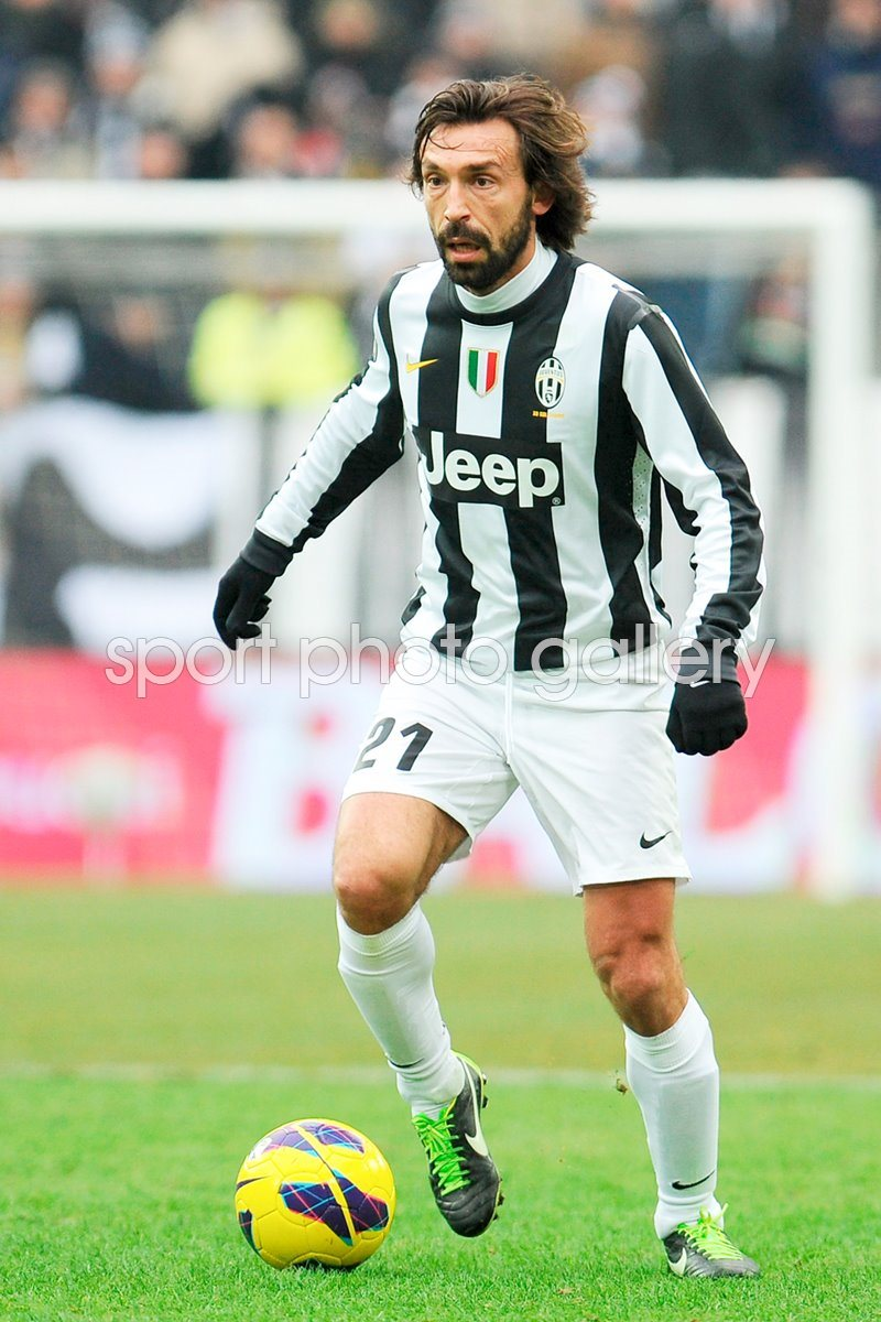 European Clubs Images Football Posters Andrea Pirlo