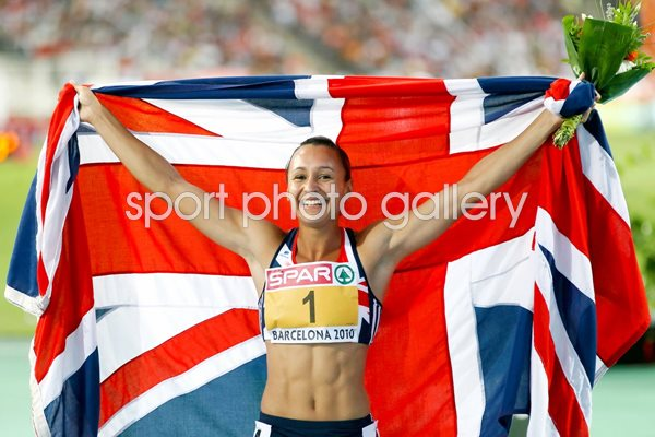 Jessica Ennis of Great Britain - Barcelona 2010