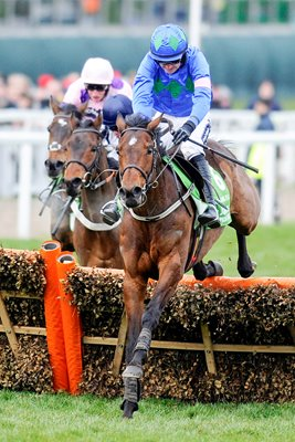Ruby Walsh & Hurricane Fly win 2013 Chamion Hurdle