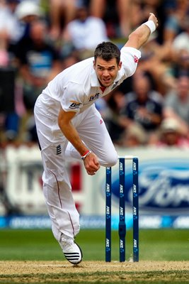 James Anderson England Wellington 2013
