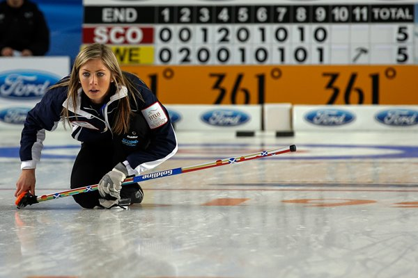 Eve Muirhead World Women's Curling Championship