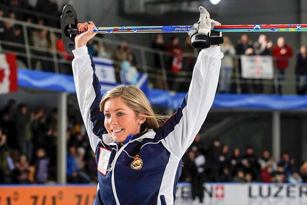 Eve Muirhead World Women's Curling Championship 2013