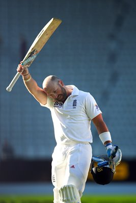 England hero Matt Prior Day 5 Auckland New Zealand 2013