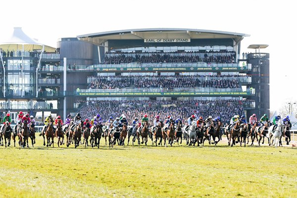 Grand National Start Aintree 2013