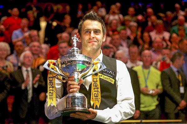 Ronnie O'Sullivan World Snooker Champion 2013