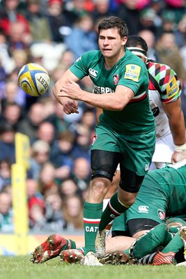 Ben Youngs Leicester v Harlequins Premiership Semi Final 2013