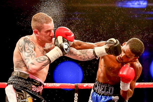 Ricky Burns v Jose Gonzalez - WBO World Lightweight Championship 2013