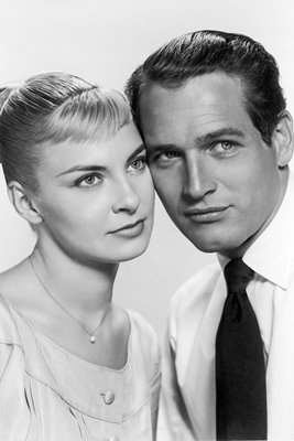 Portrait of Paul Newman And Joanne Woodward, c. 1960.