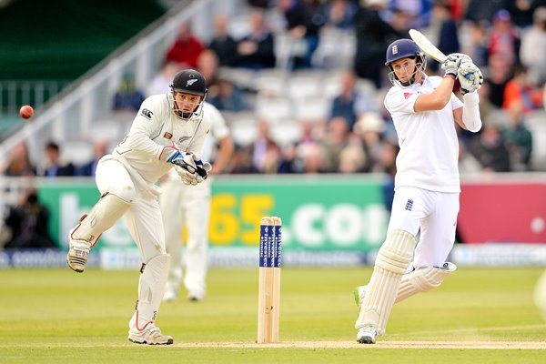 Joe Root England bats v New Zealand Lords 2013