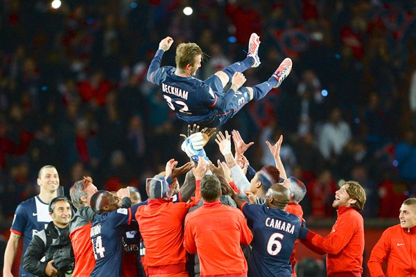 David Beckham Paris Saint-Germain FC Farewell 2013