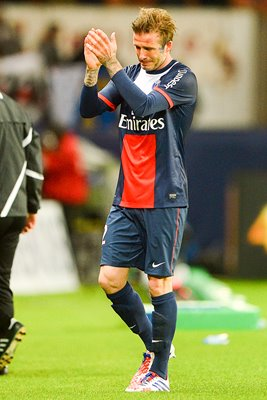 David Beckham Tearful Farwell to Football Paris May 2013