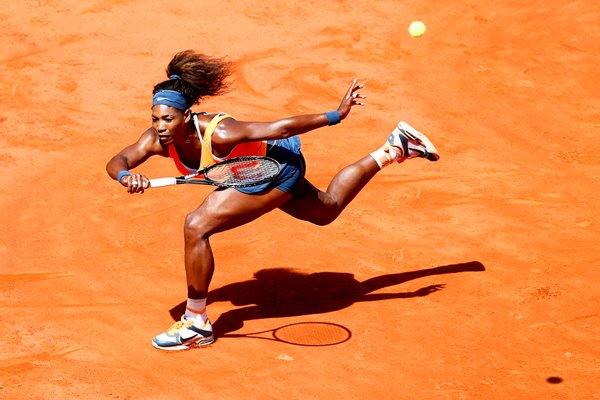 Serena Williams Clay action Rome 2013