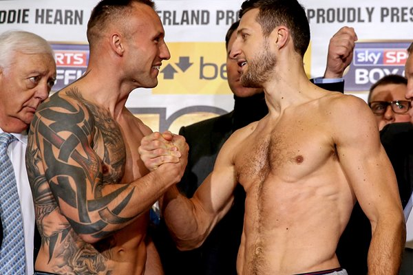 Carl Froch v Mikkel Kessler Weigh In O2 Arena London 2013