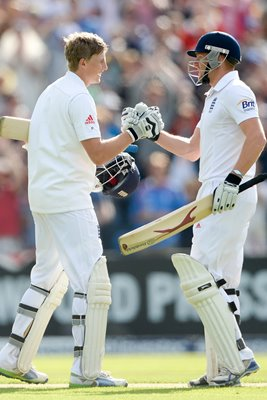 Joe  Root & Jonny Bairstow Yorkshire & England Headingley 2013