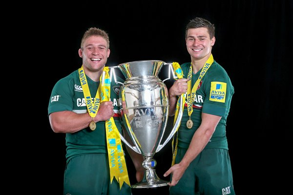 Tom and Ben Youngs Leicester Tigers Aviva Premiership Final 2013