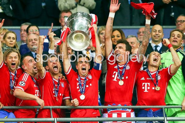 Champions league 2013 images football posters philipp lahm modal title save changes close philip lahm bayern munich champions league final winners 2013 voltagebd Choice Image