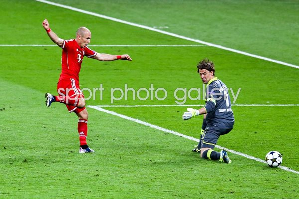 Arjen Robben Bayern Munich Champions League winner 2013