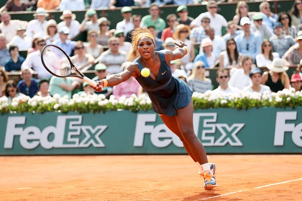 Serena Williams French Open Final 2013