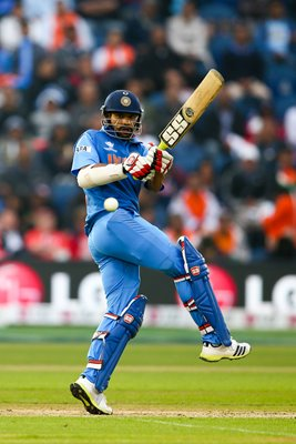 Shikhar Dhawan India v Sri Lanka Semi Final Champions Trophy 2013