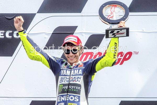 Valention Rossi wins Holland Moto GP 2013